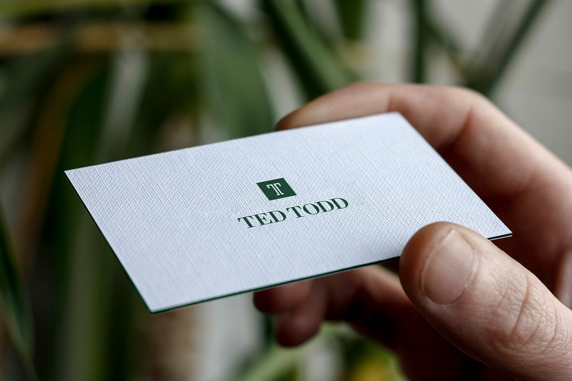 Premium Brand Business Card Design